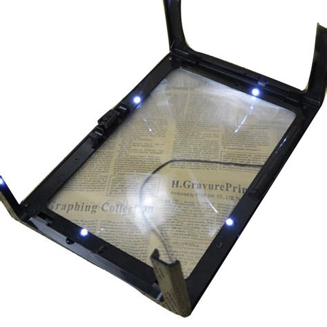 large magnifying glass with light magnifying glass with led light for reading large