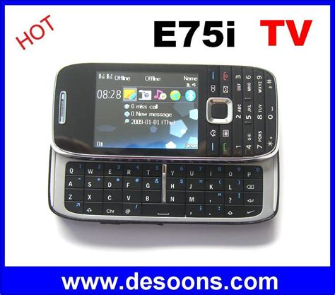 Tv Mobil Sliding kimfly e75i tv mobile phone with qwerty sliding keyboard