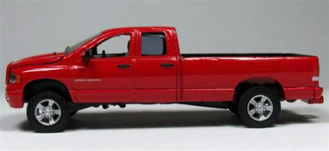amazoncom dodge ram pick  toy truck red toys games