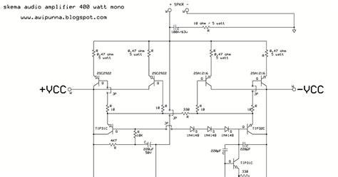 resistor gain ocl resistor gain pada power blazer 28 images skema rangkaian lifier rangkaian pre mic