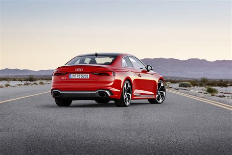 Audie Rs5 by Audi Launches New Rs5 Coupe With 450 Ps Bi Turbo V6 Tfsi