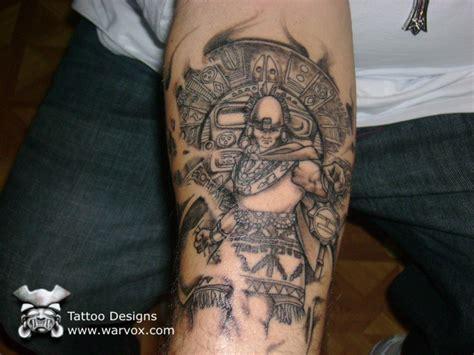 warvox tattoo gallery aztec mayan inca