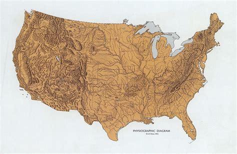 usa landform map william cronon 469 handout 3 introduction to america