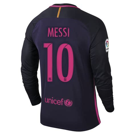 Jersey Multi Sport Real Madrid Third Ls 2013 lionel messi away ls soccer jersey 16 17 barcelona 10 messi messi barcelona
