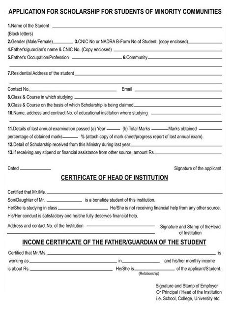 Minority form 2013 download on scholarship application letter, scholarship application form template, scholarship application flyer, scholarship opportunities,