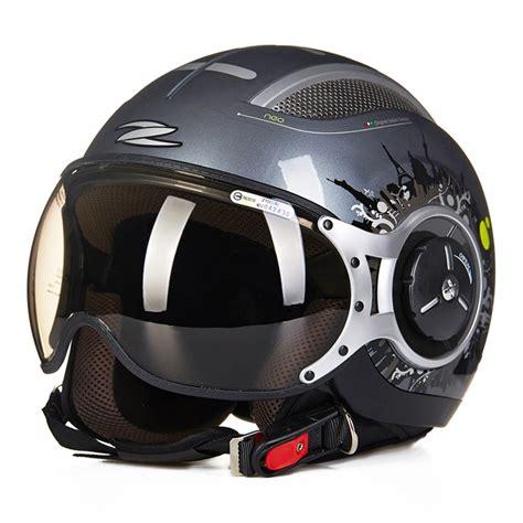 Helm Retro Type Maroon get cheap pilot style motorcycle helmet aliexpress alibaba