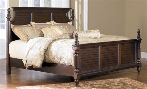 ashley furniture king size bed key town california king size panel bed from millennium by