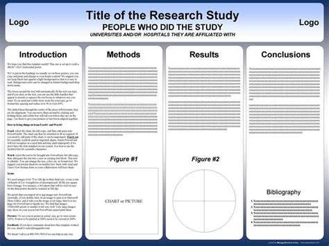 Powerpoint Poster Templates For Research Poster Presentations Penn State Powerpoint Template