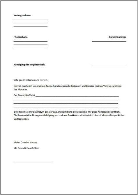 Offizieller Brief Word Vorlage K 252 Ndigung Vertrag Vorlage K 252 Ndigung Vorlage Fwptc