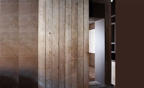 Monter Des Portes Coulissantes 4754 by Une Porte Coulissante En Planches De Bois Us 233 Es Maison