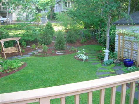 landscape design ideas for large backyards before after big backyard makeovers hgtv