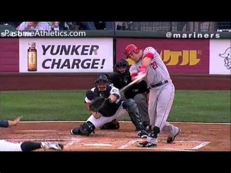 mike trout slow motion swing mike trout home run baseball swing slow motion hitting