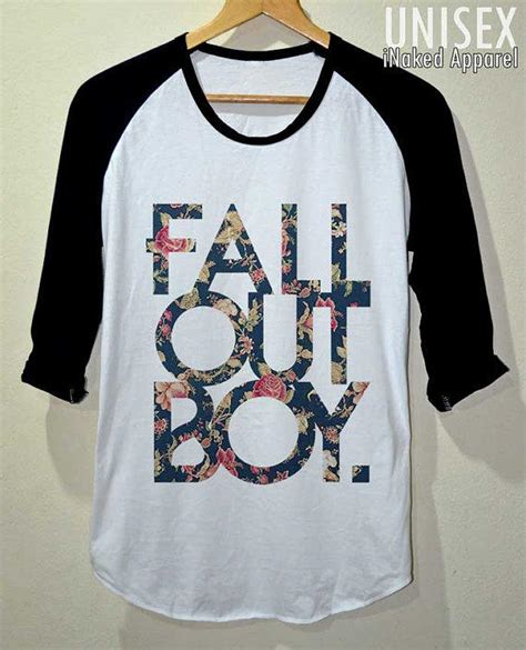 Tshirt Fall Out Boy Fob fob shirt fall out boy flower vintage t from inakedapparel on