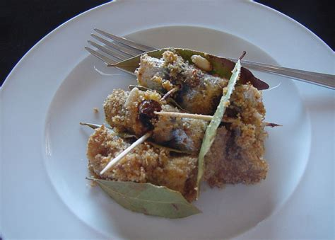 beca foco the sicilian cuisine blog quot sarde a beccafico quot the unique