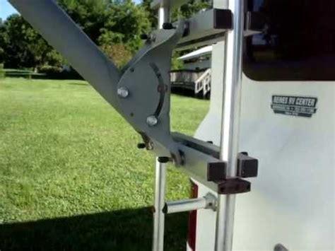 rv satellite dish ladder mount video youtube