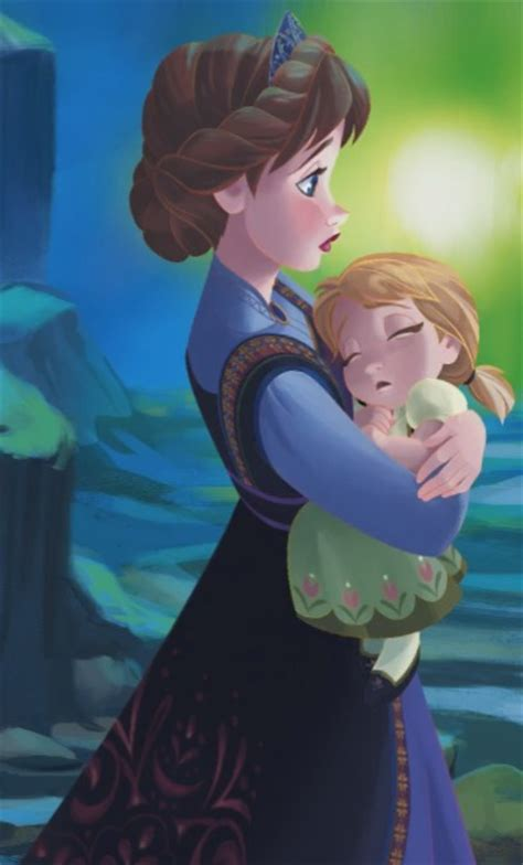 film frozen young lengkap i know this is anna from frozen with her mother but it
