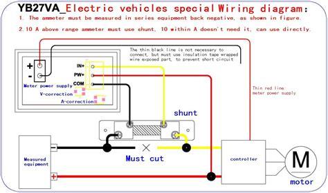 why the shunt resistor of the voltmeter is high 4 5 30v 0 50a dual led digital volt meter fl 2 75mv 50a current shunt resistor ebay