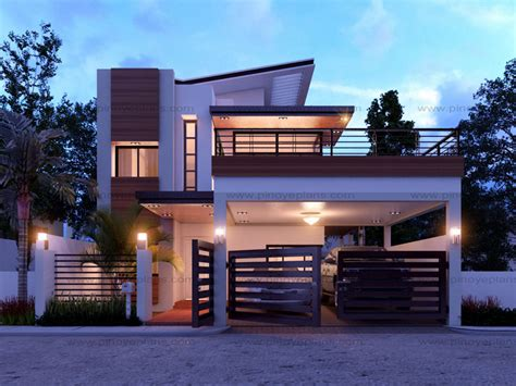 Modern House Design Series: MHD 2014012   Pinoy ePlans
