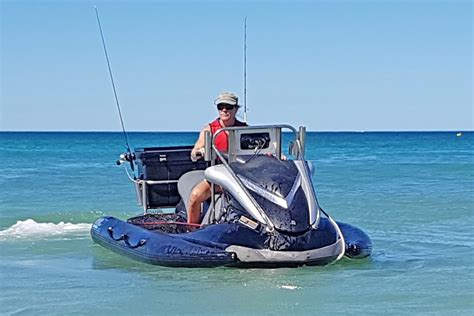 deep sea fishing boat setup pwc jet ski stabilizer rib kit and pwc jet ski boat rib