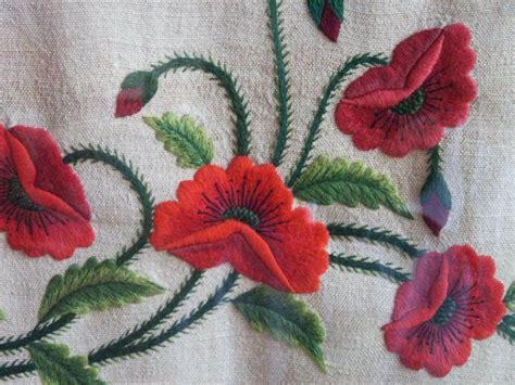 imagenes de flores bordadas a mano rosas bordadas a mano imagui