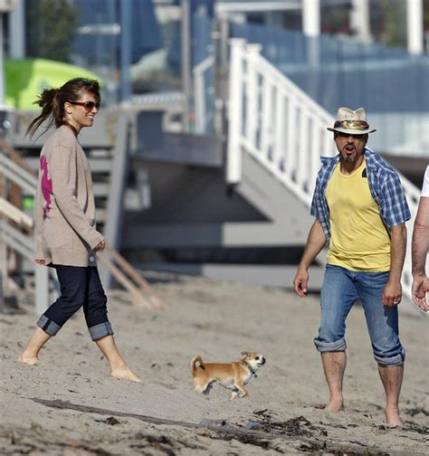 robert downey jr house susan downey in robert downey jr at a beach house in malibu zimbio