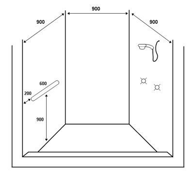 bathroom design template ot draw gallery