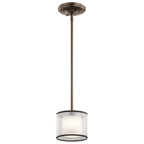 Mission Pendant Light Tallie Mission Bronze One Light Mini Pendant Kichler Stem Mini Pendant Lighting Ceiling Li