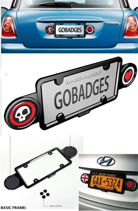 Mini Cooper Vanity Plates by Badge Holder License Plate Frame Mini Cooper