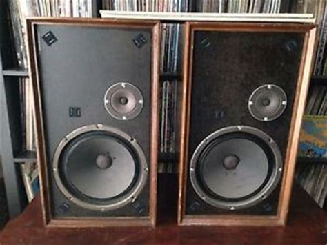altec lansing 893a corona 2 way bookshelf speakers ebay