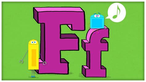 abc song the letter f quot f is quot by storybots
