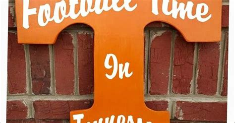 university of tennessee vols home decor by gdaykreations university of tennessee vols power t wall decor by