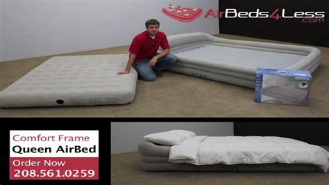 intex comfort frame raised air mattress