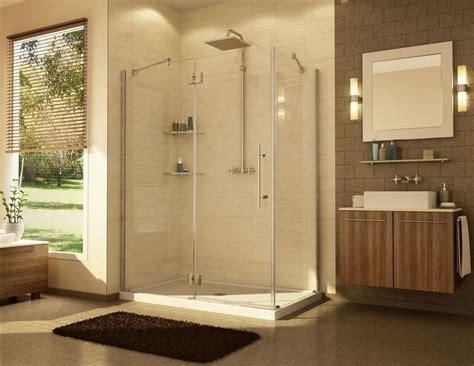 32 X 36 Shower Fleurco 31 Quot 32 Quot X 36 Quot Platinum In Line 3 8 Quot Pivot Shower