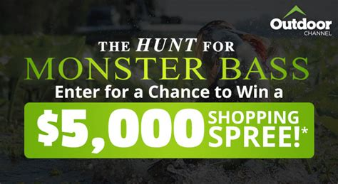 Enter To Win A 5000 Glamcom Shopping Spree by The Best In Fishing And Boating Gear Bass Pro Shops