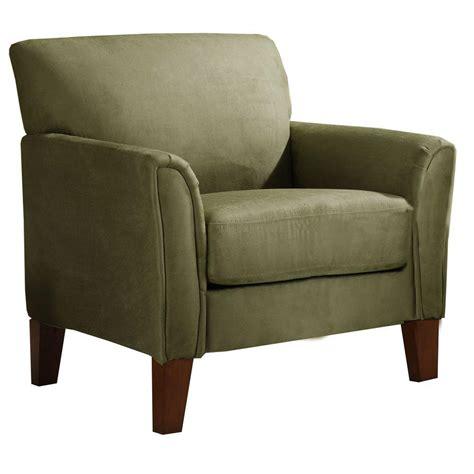 microfiber armchair homesullivan sage microfiber armchair 409913sg 1tl the