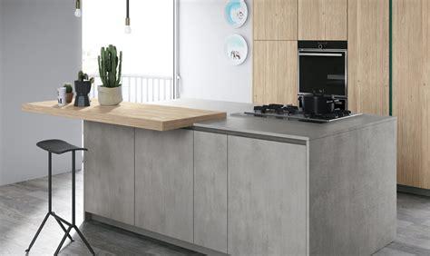 cucine in cemento piano di lavoro in cemento per la cucina casafacile