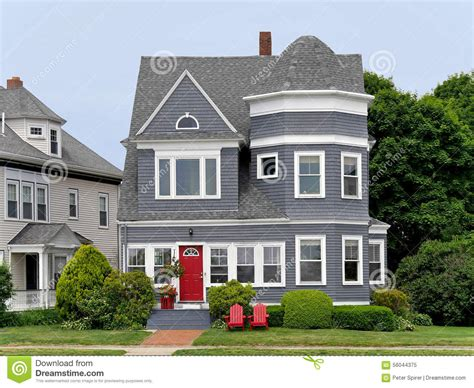 houses with grey siding house with grey siding stock photo image 56044375