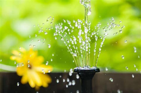 Solarbrunnen Garten