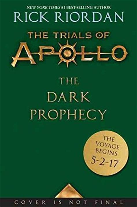 The Trials Of Apollo 2 The Prophecy Rick Riordan the prophecy the trials of apollo 2 by rick riordan reviews discussion bookclubs lists