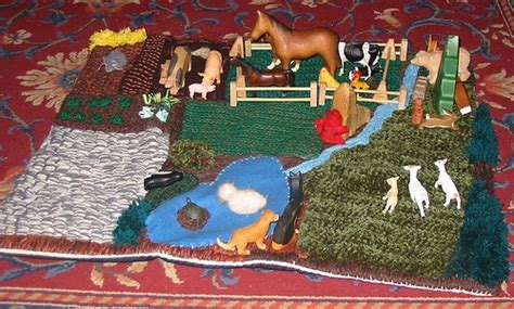 farm play rug 17 images about crochet farm baby blankets on owl afghan blankets and farms