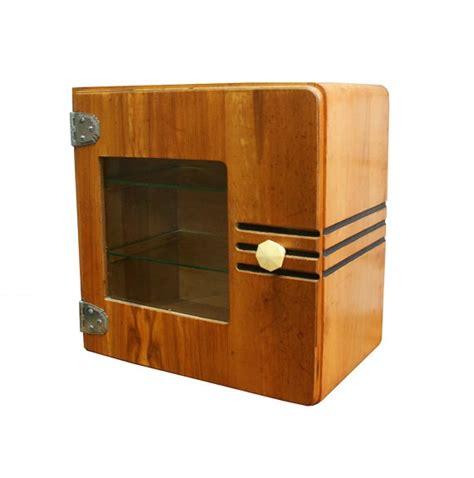 vintage deco medicine cabinet streamlined deco