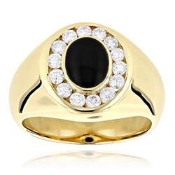 mens black rings with diamonds home design