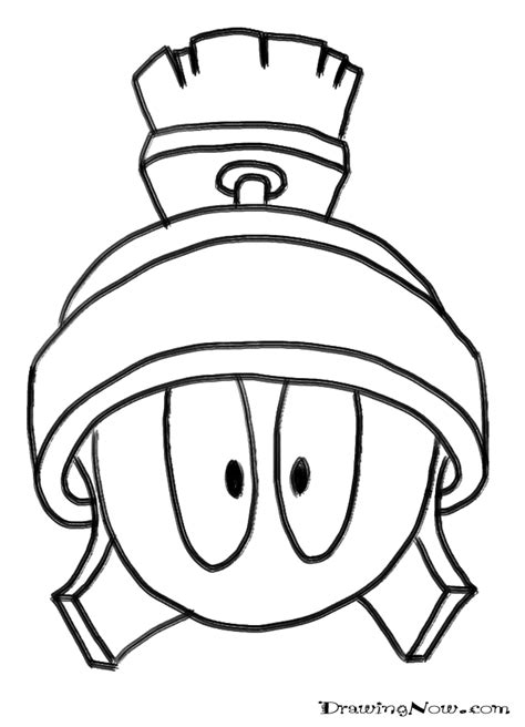 marvin the martian coloring pages coloring home