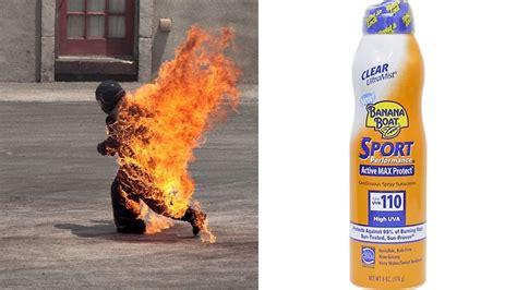 banana boat sunscreen and cancer banana boat sunscreen withdrawn from shelves fire risk