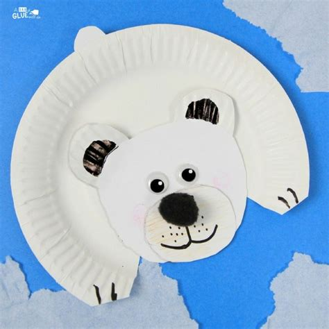 polar paper plate craft 10 polar crafts for tip junkie