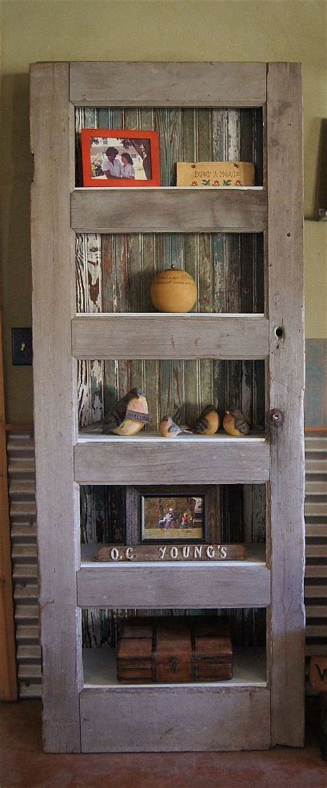The Door Shelf by Ideas To Recycle Doors Becoration