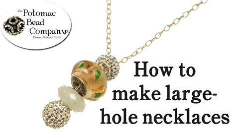 how to make jewelry necklace pandora style necklace tutorial