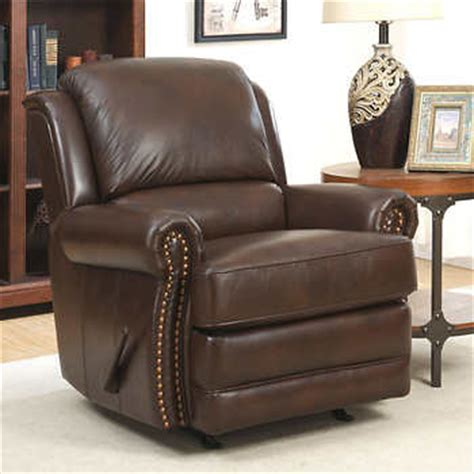 costco rocker recliner morgan top grain leather rocker recliner