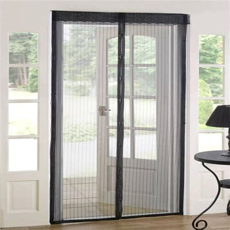 Door Magnetic Screen by As Seen On Tv Magnetic Mesh Screen Door Free Shipping On