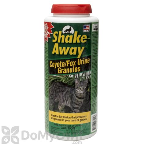 urine repellent shake away coyote fox urine granules domestic cat repellent 2854448